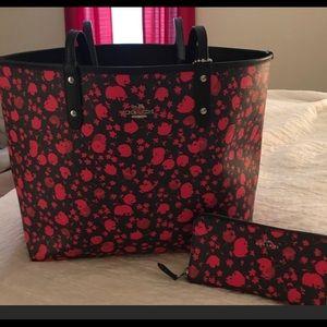 Coach tote bag -reversible